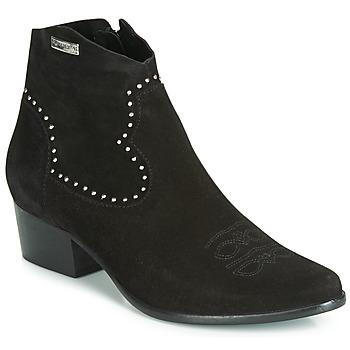 Zapatos Mujer Botines Les Tropéziennes par M Belarbi ASTRID Negro