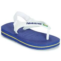 Zapatos Niño Chanclas Havaianas BABY BRASIL LOGO Marino