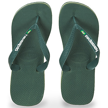 Zapatos Chanclas Havaianas BRASIL LOGO Oliva