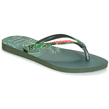 5bc7627b4 Zapatos Mujer Chanclas Havaianas SLIM SENSATION Verde