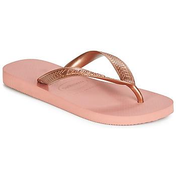 Zapatos Mujer Chanclas Havaianas TOP TIRAS Rosa