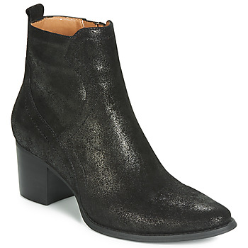 Zapatos Mujer Botas de caña baja Karston APIVA Negro