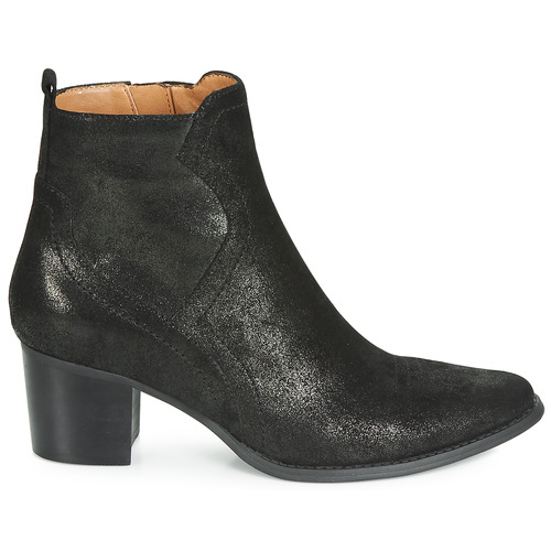 Karston Apiva Zapatos De Caña Botas Baja Mujer Negro dorCBexW