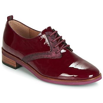 Zapatos Mujer Derbie Karston JINAX Burdeo