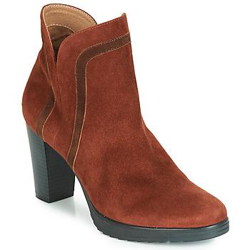 Zapatos Mujer Botines Karston VASOR Marrón