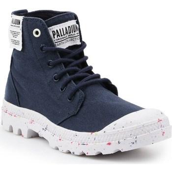 Zapatos Mujer Botas de caña baja Palladium HI Organic W Negros
