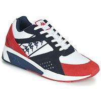 Zapatos Hombre Zapatillas bajas Kappa GARKO Blanco / Rojo / Negro