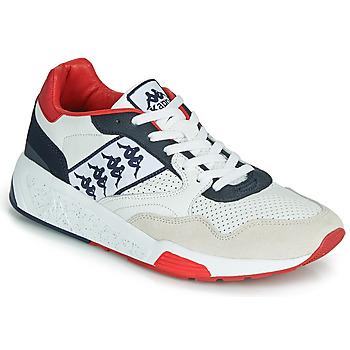 Zapatos Hombre Zapatillas bajas Kappa LUXOR 2 Blanco / Rojo