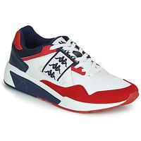 Zapatos Hombre Zapatillas bajas Kappa BARSEL 2 Blanco / Rojo