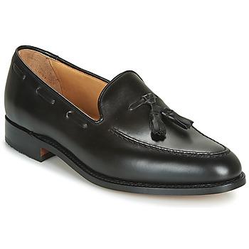 Zapatos Hombre Mocasín Barker TASSEL Negro