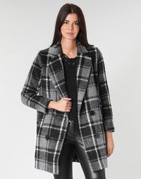 textil Mujer Abrigos Molly Bracken PL132A21 Negro