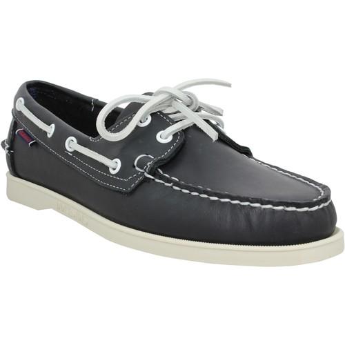 Zapatos Hombre Zapatos náuticos Sebago 121438 Azul