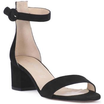 Zapatos Mujer Sandalias Priv Lab CAMOSCIO NERO Nero