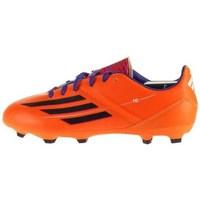 Zapatos Niños Fútbol adidas Originals F10 Trx FG J Negros, De color naranja