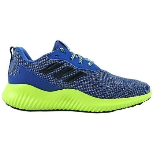 Zapatos Niños Zapatillas bajas adidas Originals Alphabounce RC XJ Azul, Verde claro
