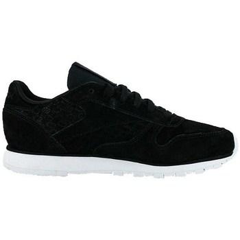 Zapatos Mujer Zapatillas bajas Reebok Sport Classic Leather Woven Emb