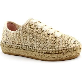 Zapatos Mujer Alpargatas Macarena MAC-E19-PATRI86-TA Beige