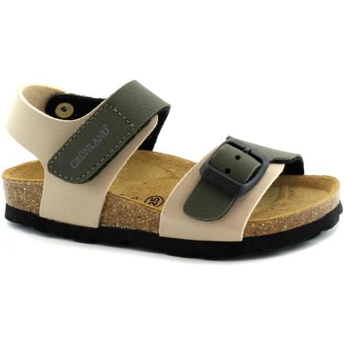 Zapatos Niño Sandalias Grunland GRU-E19-SB0234-BO-b Beige