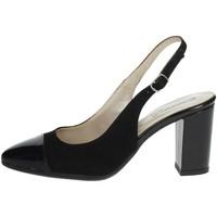 Zapatos Mujer Zapatos de tacón Romagnoli B9E1750 Negro