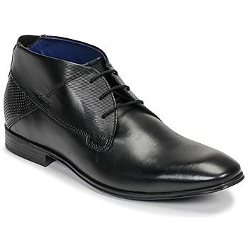 Zapatos Hombre Botas de caña baja Bugatti ELVIS Negro