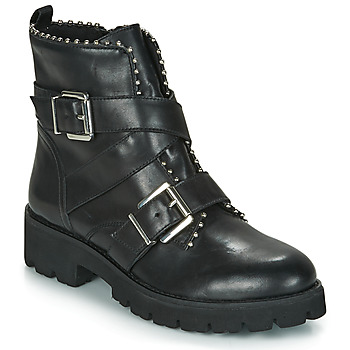 Zapatos Mujer Botas de caña baja Steve Madden HOOFY Negro