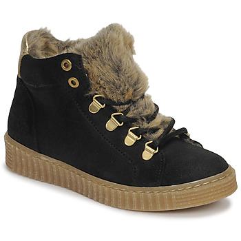 Zapatos Niña Zapatillas altas Bullboxer AIB504E6CA-BLCK Negro