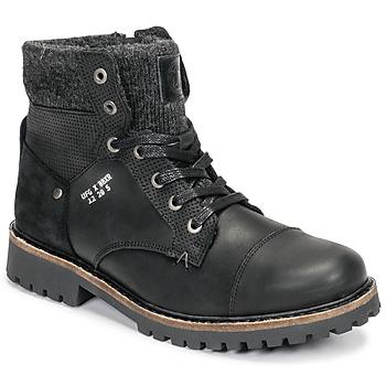 Zapatos Niño Botas de caña baja Bullboxer AHA518E6L-BLCK Negro