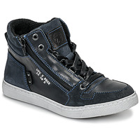Zapatos Niño Zapatillas altas Bullboxer AGM531E6L-NGBLK Marino