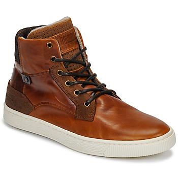 Zapatos Hombre Zapatillas altas Bullboxer 648K55858A2501 Marrón