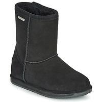 Zapatos Niños Botas de caña baja EMU BRUMBY LO WATERPROOF Negro