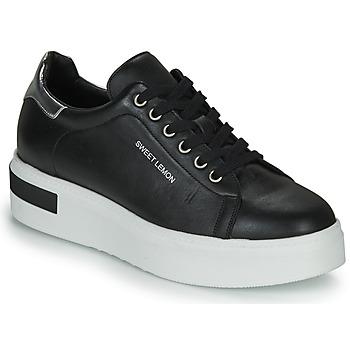 Zapatos Mujer Zapatillas bajas Sweet Lemon BISTROT Negro