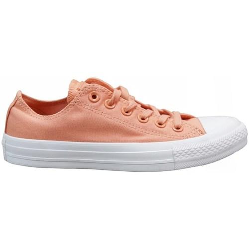 Zapatos Niños Zapatillas bajas Converse Chuck Tylor AS OX Rosa