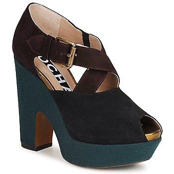Zapatos Mujer Zapatos de tacón Rochas NINFEA Marrón / Azul