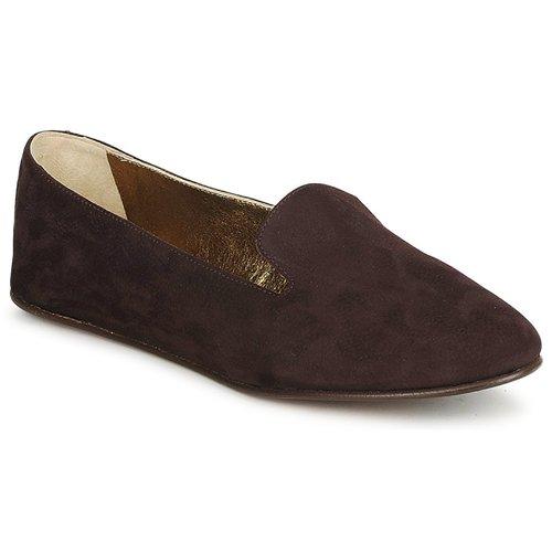 Zapatos Mujer Mocasín Rochas NITOU Marrón