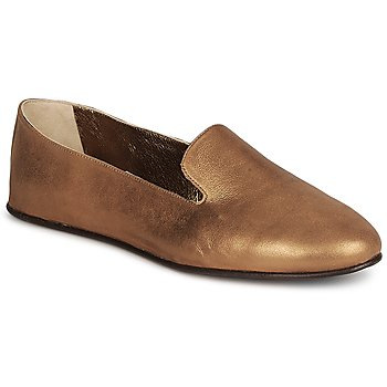 Zapatos Mujer Mocasín Rochas NITOU Bronce