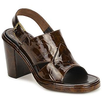Zapatos Mujer Sandalias Rochas TARTAF Marrón