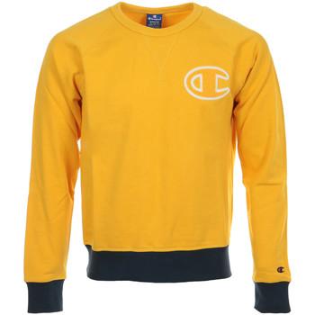 textil Hombre Sudaderas Champion Crewneck Sweatshirt Amarillo