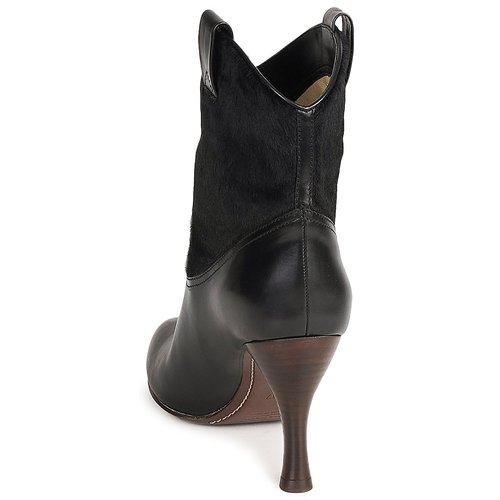 Mj19064 Jacobs Botines Marc Zapatos Mujer Negro Aj354RL