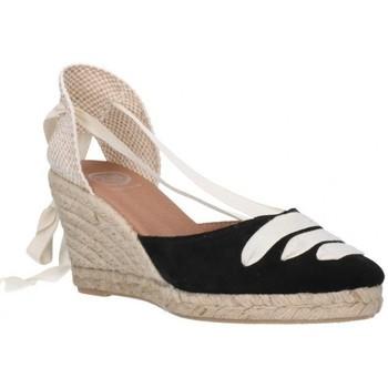 Zapatos Mujer Alpargatas Carmen Garcia 41s7 Mujer Negro noir
