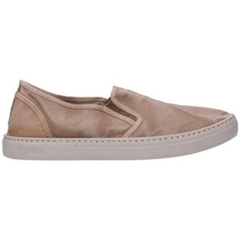 Zapatos Mujer Slip on Natural World 6301E Mujer Beige beige