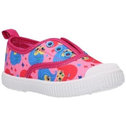 Zapatos Niña Zapatillas bajas Cerda 2300003571 Niña Fucsia violet