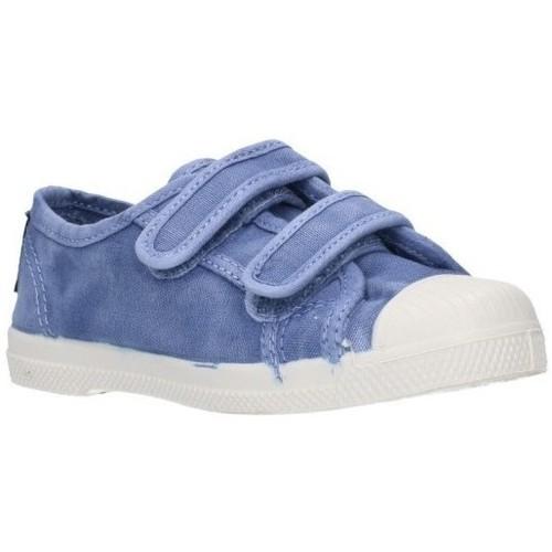 Zapatos Niño Zapatillas bajas Natural World 489E Niño Celeste bleu