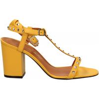 Zapatos Mujer Sandalias Via Roma 15 SANDALO CINTURINI PIRAMIDI giallo