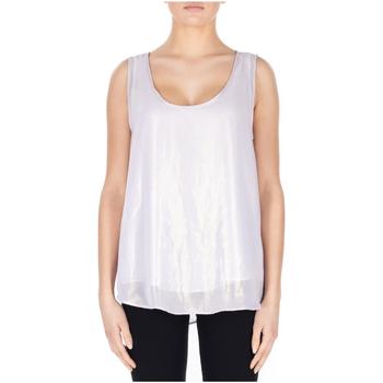 textil Mujer Camisetas sin mangas Jijil CANOTTA SETA primavera-oro