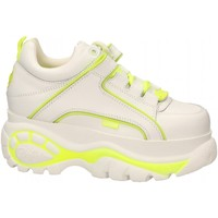 Zapatos Mujer Zapatillas bajas Buffalo 1339-14 LEATHER white-yellow