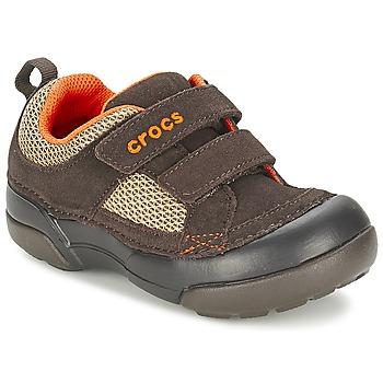 Zapatos Niño Zapatillas bajas Crocs DAWSON HOOK & LOOP Marrón