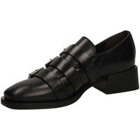 Zapatos Mujer Derbie Laura Bellariva VITELLO nero-nero