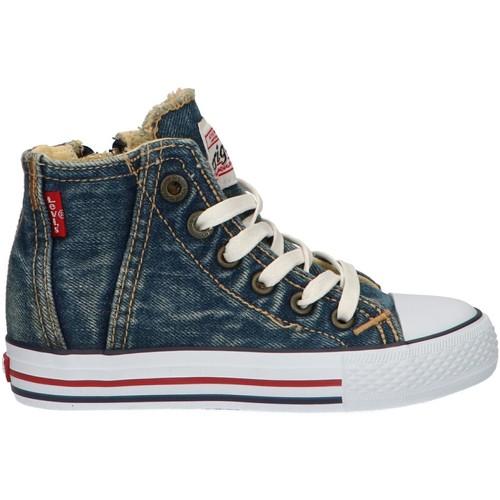 Zapatos Niños Zapatillas altas Levi's VTRU0004T ORIGINAL Azul