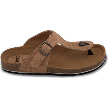 Zapatos Mujer Chanclas Nae Vegan Shoes Kos Cork Marrón