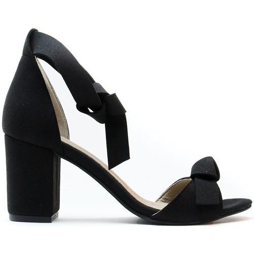 Zapatos Mujer Sandalias Nae Vegan Shoes Estela Black Negro